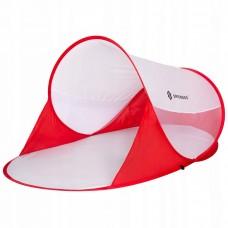 Пляжная палатка-тент Springos Pop Up 120 x 200 см PT012 Red/White