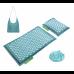 Коврик акупунктурный с валиком 4FIZJO Eco Mat Аппликатор Кузнецова 68 x 42 см 4FJ0180 Turquoise