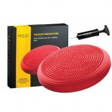 Балансировочная подушка массажная 4FIZJO MED+ 4FJ0052 Red
