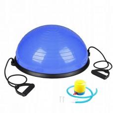 Балансировочная полусфера платформа Springos Bosu Ball 57 см BT0001 Blue
