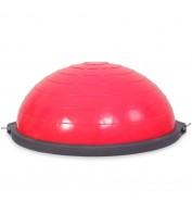 Балансировочная полусфера с эспандером USA Style LEXFIT розовый, LGB-1531