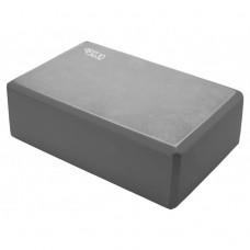 Блок для йоги (кирпич) 4FIZJO 4FJ0141 Grey