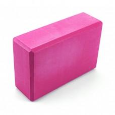 Блок для йоги Sportcraft Yoga Brick EVA ES0011 Pink