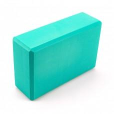 Блок для йоги Sportcraft Yoga Brick EVA ES0012 Turquoise