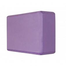 Блок для йоги (кирпич) SportVida SV-HK0174 Violet