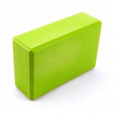 Блок для йоги Sportcraft Yoga Brick EVA ES0015 Lime