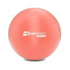 Фитбол (мяч для фитнеса) Hop-Sport 45 см розовый + насос 2020