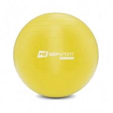 Фитбол (мяч для фитнеса) Hop-Sport 45 см желтый + насос 2020
