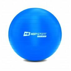 Фитбол (мяч для фитнеса) Hop-Sport 65cm синий + насос 2020