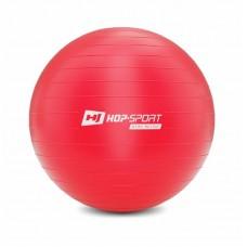 Фитбол (мяч для фитнеса) Hop-Sport 65cm красный + насос 2020