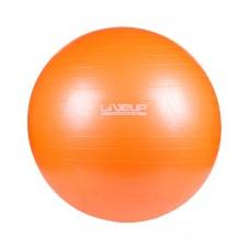 Фитбол (мяч для фитнеса, гимнастический) LiveUp ANTI-BURST 65 см LS3222-65o
