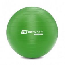 Фитбол (мяч для фитнеса) Hop-Sport 55 см зеленый + насос 2020