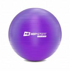 Фитбол (мяч для фитнеса) Hop-Sport 65cm фиолетовый + насос 2020