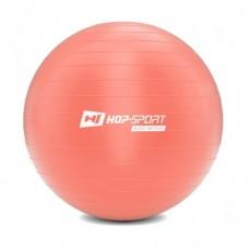 Фитбол (мяч для фитнеса) Hop-Sport 65 см розовый + насос 2020