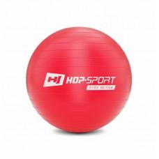 Фитбол (мяч для фитнеса) Hop-Sport 45 cm красный + насос 2020