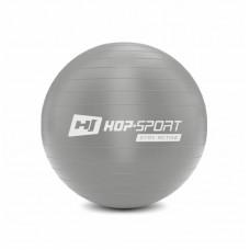 Фитбол (мяч для фитнеса) Hop-Sport 45 cm серебристый + насос 2020