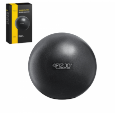 Мяч для пилатеса, йоги, реабилитации 4FIZJO 22 см 4FJ0139 Black