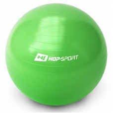 Фитбол (мяч для фитнеса, гимнастический) Hop-Sport 65cm зеленый + насоc