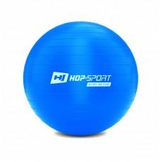 Фитбол (мяч для фитнеса) Hop-Sport 55cm синий + насос 2020