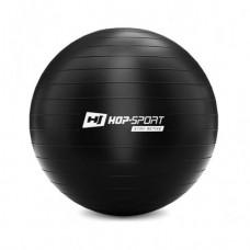 Фитбол (мяч для фитнеса) Hop-Sport 45 см черный + насос 2020