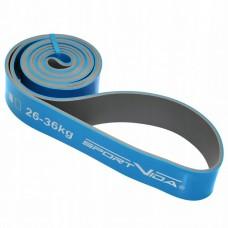 Резинка для подтягиваний (силовая лента) SportVida Power Band 44 мм 26-36 кг SV-HK0211