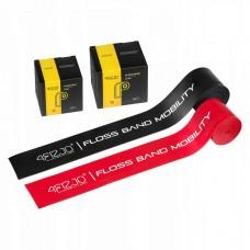 Лента эластичная для флоссинга 4FIZJO Floss Band 208 x 5 см 2 шт 4FJ0137