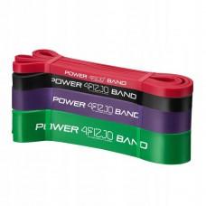 Резинка для подтягиваний (силовая лента) 4FIZJO Power Band 4 шт 6-36 кг 4FJ0063