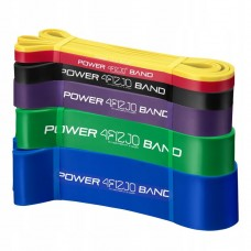 Резинка для подтягиваний (силовая лента) 4FIZJO Power Band 6 шт 2-46 кг 4FJ0064