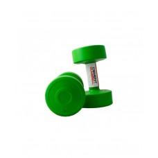 Гантели для фитнеса с пластиковым покрытием 2 х 2 кг LiveUp LS2003-2
