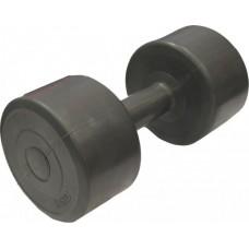 Гантель для фитнеса 5,5 кг Evrotop SS-LKDB-601-5.5 пластик темно-серая