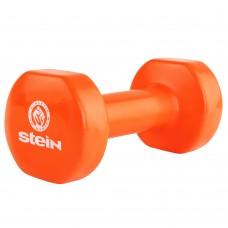 Гантель виниловая Stein 5.0 кг / шт/ оранжевая