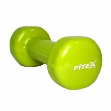 Гантель виниловая Fitex MD2015-2V, 2 кг