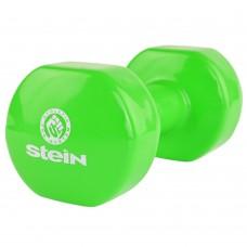 Гантель виниловая Stein 7.0 кг / шт / зелёная
