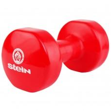 Гантель виниловая Stein 8.0 кг / шт / красная