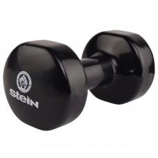 Гантель виниловая Stein 9.0 кг / шт / черная