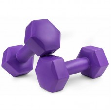 Набор гантелей для фитнеса композитных Hop-Sport HS-C010DH 2х1 кг