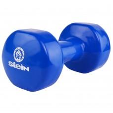 Гантель виниловая Stein 10 кг / шт / синяя