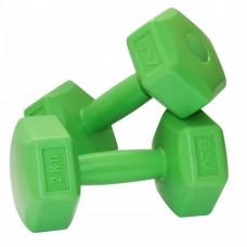 Гантели для фитнеса SportVida 2 x 2 кг SV-HK0218