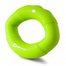 Эспандер силиконовый овальный 13,6 кг Hop-Sport HS-S013OG зеленый