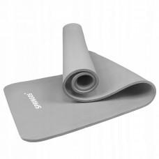 Коврик (мат) для йоги и фитнеса Springos NBR 1 см YG0032 Grey