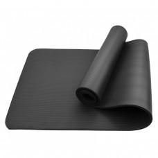 Коврик (мат) для фитнеса Sportcraft NBR 1 см ES0008 Black