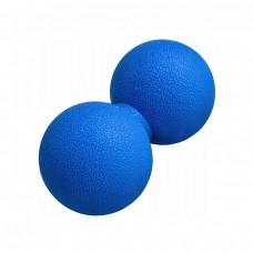 Массажный мяч двойной Springos Lacrosse Double Ball 6 x 12 см FA0024 синий