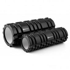 Массажный ролики (валики, роллеры)  33,5 см и 30 см Hop-Sport HS-001YG черный