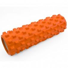 Массажный ролик (валик, роллер) Sportcraft 45 x 14 см ES0041 оранжевый