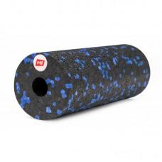 Массажный ролик (валик, роллер) EPP 15 см HS-P015YG черно-синий