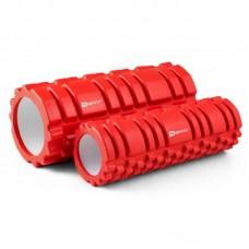 Массажные ролики (валики, роллеры) 33,5 см и 30 см HS-001YG красный