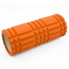 Массажный ролик (валик, роллер) Sportcraft 33 x 14 см ES0037 оранжевый