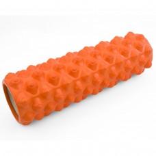 Массажный ролик (валик, роллер) Sportcraft 45 x 14 см ES0047 оранжевый