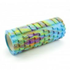 Массажный ролик (валик, роллер) Sportcraft Mix Color 33 x 14 см ES0033 цветной