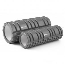 Массажные ролики (валики, роллеры) 33,5 см и 30 см HS-001YG серый